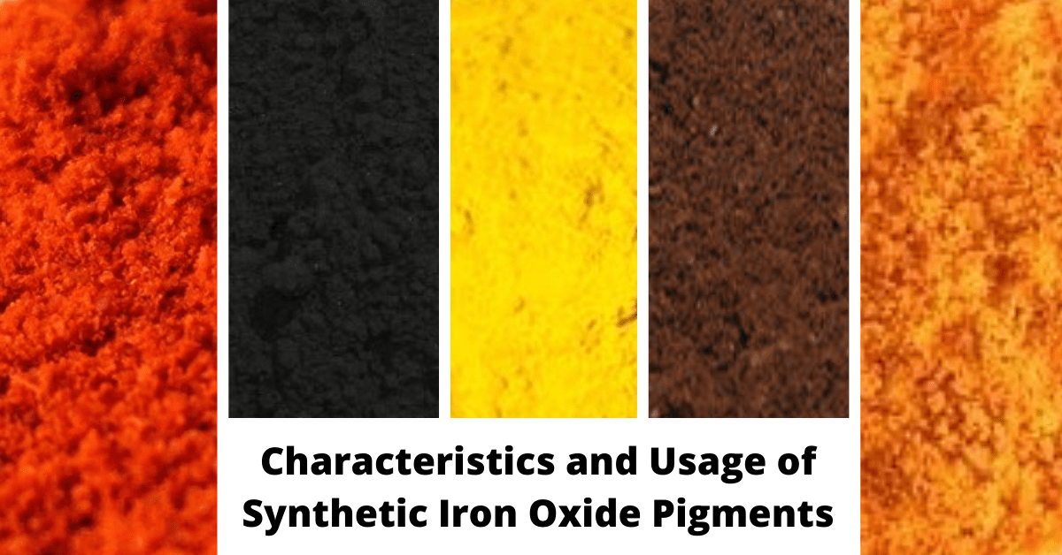 Characteristics and Usage of Synthetic Iron Oxide Pigments-c